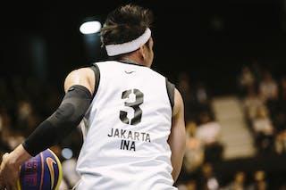 #3 Saputra Wijaya, Team Jakarta, FIBA 3x3 World Tour Final Tokyo 2014, 11-12 October.