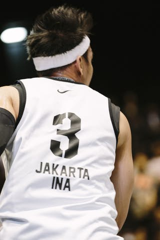#3 Saputra Wijaya, Team Jakarta, FIBA 3x3 World Tour Final Tokyo 2014, 11-12 October.