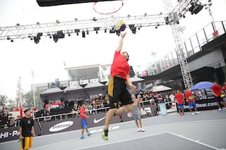 Dunk, Dmitry 'Smoove' Krivenko Nike clinic, 2014 World Tour Beijing, 3x3game, 2-3 August.