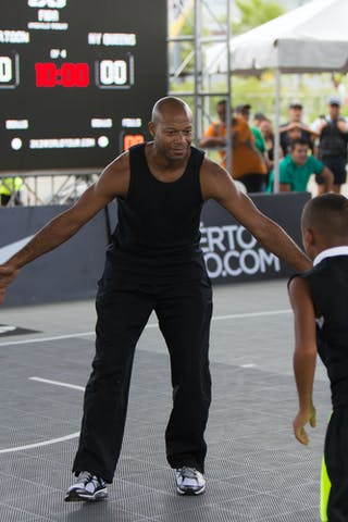 at the San Juan Masters 10-11 August 2013 FIBA 3x3 World Tour, San Juan, Puerto Rico. Day 2