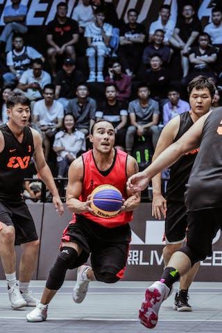 3 Zhang Jingli (CHN) - 6 Nolan Brudehl (CAN) - 5 Shi Zhaoxu (CHN)