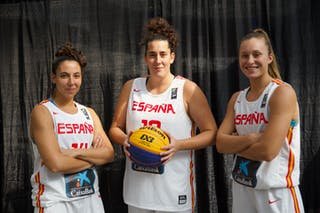 14 Eliana Soriano Gutierrez (ESP) - 10 Aitana Cuevas (ESP) - 3 Marta Canella Rodríguez (ESP)