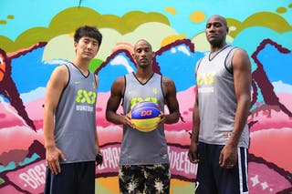 Team Wukesong, FIBA World Tour Beijing 2014, 2-3 August.