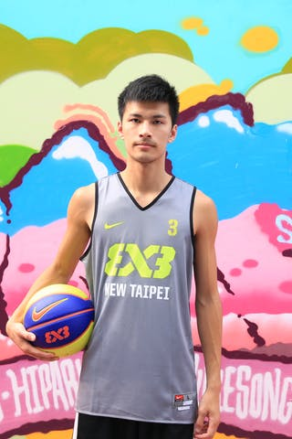 #3 Jih Hsuan Fang, Team New Taipei, FIBA 3x3 World Tour Beijing 2014, 2-3 August.