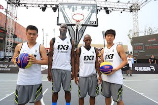 Team Wukesong, 2014 World Tour Beijing, 3x3game, 2-3 August.
