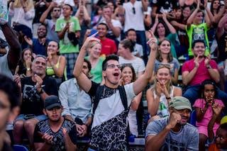 Fans, 2015 WT Lausanne, Pool, 28 August 2015