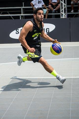 #5 Sanmiguel Jaime, Team Quito, FIBA 3x3 World Tour Rio de Janeiro 2014, 27-28 September.