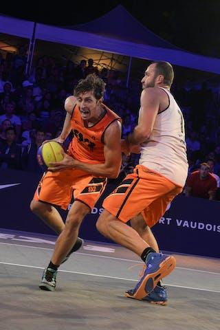 #4 Finzgar Simon, Team Trbovlje, FIBA 3x3 World Tour Lausanne 2014, Day 2, 30. August.