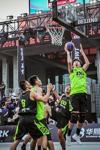 6 Shao Hua Guo (CHN) - Zheng Zhou v Shanghai SUES, 2016 WT Beijing, Pool, 16 September 2016