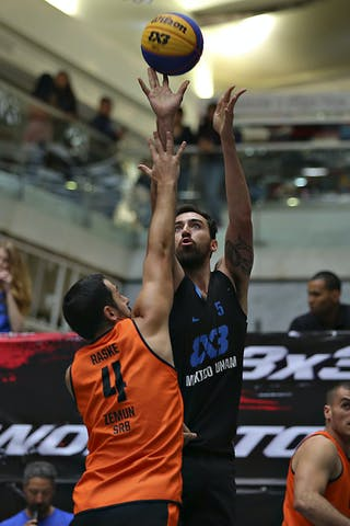 5 Joaquín Villanueva Lozano (MEX) - 4 Lazar Rasic (SRB)