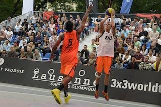 #7 Meroni Leonardo, Team Lecco, FIBA 3x3 World Tour Lausanne 2014, Day 1, 29. August.