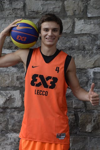 #4 Todeschini Davide, Team Lecco, FIBA 3x3 World Tour Lausanne 2014, 29-30 August.