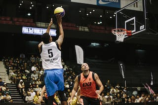 #5 Canaleta Rommel Nino, Team Manila West, FIBA 3x3 World Tour Final Tokyo 2014, 11-12 October.