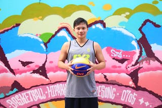 #6 Chen Chun-Hsuan, Team New Taipei, FIBA 3x3 World Tour Beijing 2014, 2-3 August.