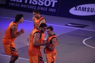 Team Monastir, FIBA 3x3 World Tour Lausanne 2014, Day 1, 29. August.