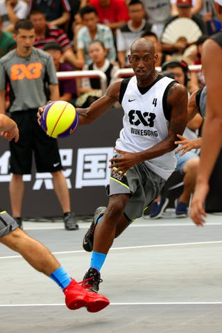 #4 Reaves Chris, Team Wukesong, FIBA 3x3 World Tour Beijing 2014, 2-3 August.