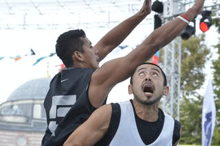#3 Nagoya (Japan) Jakarta (Indonesia)  2013 FIBA 3x3 World Tour final in Istanbul