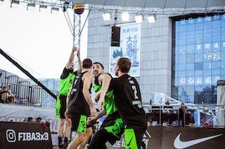6 Stefan Kojic (SRB) - 3 Mihailo Vasic (SRB) - 5 Jesper Jobse (NED) - 2 Aron Roijé (NED)
