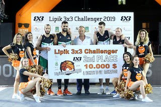 (Lipik Challenger 2019), price ceremony 2nd place Kranj