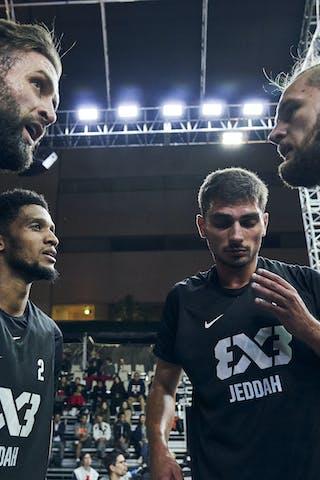 5 Kevin Corre (KSA) - 6 Nemanja Draskovic (KSA) - 4 Szymon Rduch (KSA) - 2 Khalid Abdel-gabar (KSA)