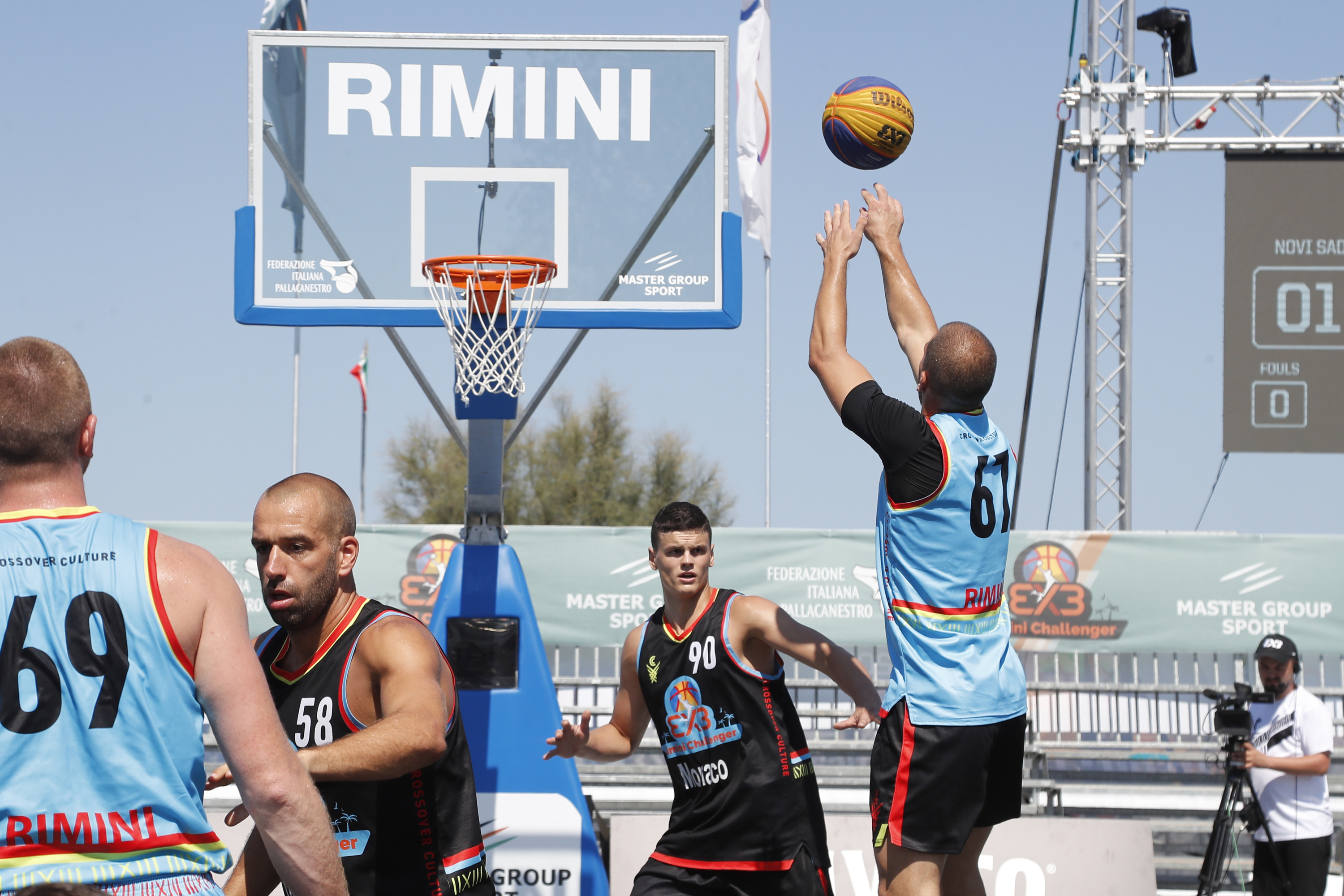 All game photos gallery | F I P  Rimini Challenger 2019