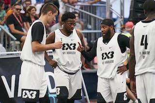 5 Dominique Jones (USA) - 7 Kidani Brutus (USA) - 6 Joey King (USA) - 4 Marcel Esonwune (USA)