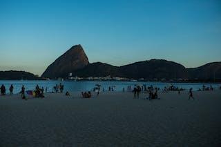 Beach view 2013 FIBA 3x3 World Tour Rio de Janeiro