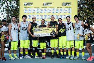 Caracas (Venezuela) Winners 2013 FIBA 3x3 World Tour Rio de Janeiro