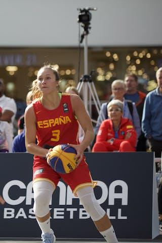3 Marta Canella Rodríguez (ESP) - 15 Andrea Klaudová (CZE)
