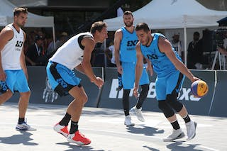 5 Ales Kunc (SLO) - Ljubljana vs Hamilton in the FIBA 3x3 World Tour Saskatoon 2017 semi final