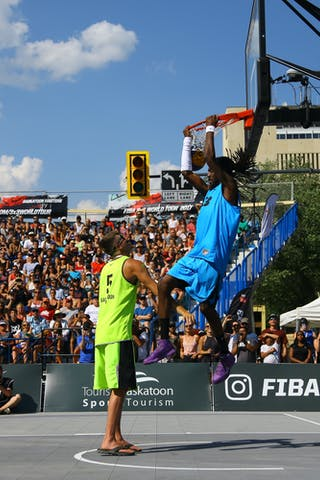 FIBA 3x3 World Tour Saskatoon 2017 dunk contest