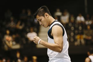 Effendi Rizky, Team Jakarta, FIBA 3x3 World Tour Final Tokyo 2014, 11-12 October.