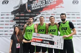 FIBA 3x3 World Tour Penang Masters winners