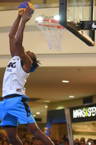 Nyika Williams-Team Kobe-Smart Dunk Qualifier- 3x3 WT Manila