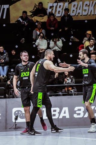 6 Nikola Vukovic (SRB) - 4 Lazar Rasic (SRB) - 3 Bogdan Dragovic (SRB) - 5 Agnis čavars (LAT) - 4 Kārlis Lasmanis (LAT)