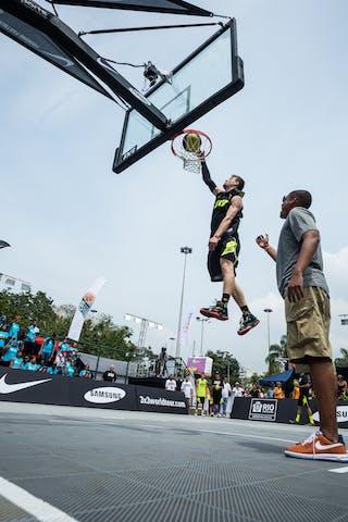 Dunk contest, FIBA 3x3 World Tour Rio de Janeiro 2014, Day 2, 28. September.