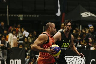 Bogdan Popescu, Team Bucharest, FIBA 3x3 World Tour Final Tokyo 2014, 11-12 October.