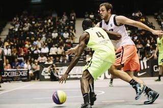#4 Gordon O'Neil, Team Saskatoon, FIBA 3x3 World Tour Final Tokyo 2014, 11-12 October.