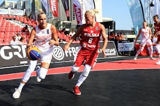 6 Martyna Cebulska (POL) - 11 Jill Bettonvil (NED)
