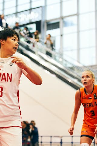 18 Sayako Ozaki (JPN) - Game3_Japan U23 vs Netherlands