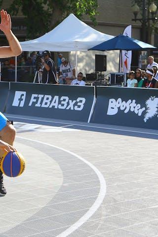 5 Ondřej Dygrýn (CZE) - 3 Jorge Matos (PUR) - Humpolec vs Gurabo FIBA 3x3 Saskatoon 2017 (Can)
