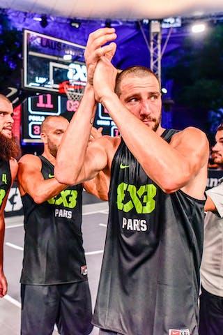 5 Dominique Gentil (FRA) - 3 Anthony Christophe (FRA) - 4 Charles Bronchard (FRA) - Liman v Paris, 2016 WT Lausanne, Semi final, 27 August 2016