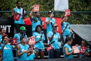 Fans, FIBA 3x3 World Tour Rio de Janeiro 2014, Day 2, 28. September.