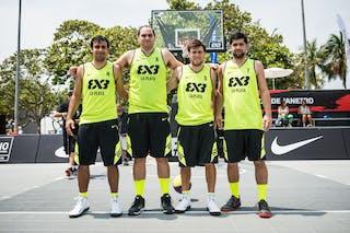 Team La Plata, FIBA 3x3 World Tour Rio de Janeiro 2014, Day 2, 28. September.