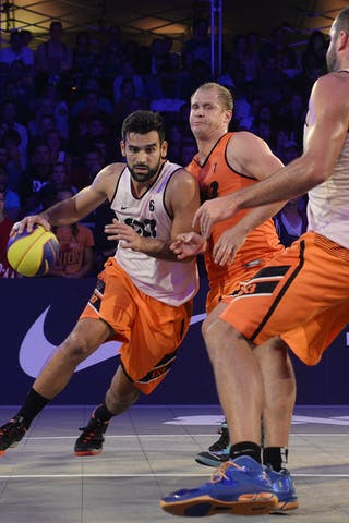 #6 Julevic Mensud, Team Kranj, FIBA 3x3 World Tour Lausanne 2014, Day 2, 30. August.