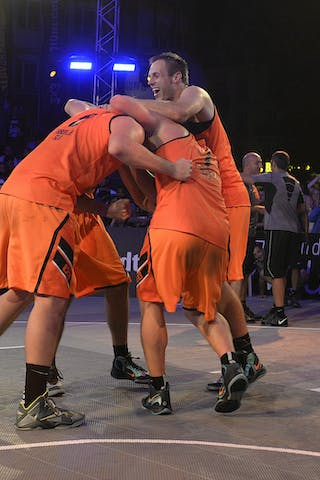 Team Trbovlje, FIBA 3x3 World Tour Lausanne 2014, Day 2, 30. August.