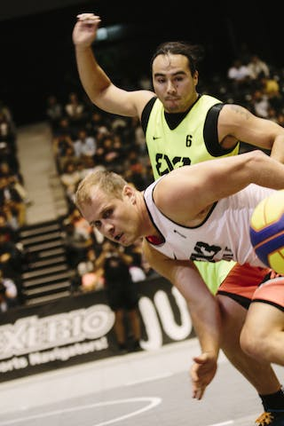 #7 Ovnik Gasper, Team Trbovlje, FIBA 3x3 World Tour Final Tokyo 2014, 11-12 October.
