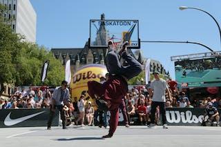 FIBA 3x3 World Tour Saskatoon 2017 entertainment