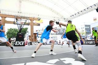 5 Rhys Carter (AUS) - 3 Bogdan Dragovic (SRB) - Pool 1 C 1: Zemun vs. Melbourne i-Athletic