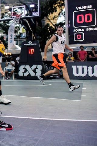 Faker BOUZOU (Team Tunis), 2015 WT Lausanne, Pool, 28 August 2015